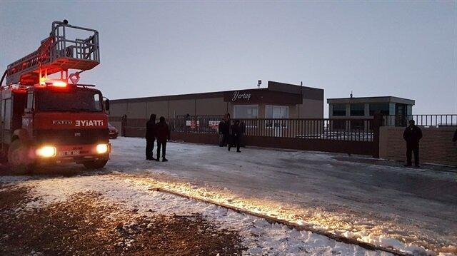 Havai fişek fabrikasındaki patlamaya itfaiye ekipleri müdahale etti.
