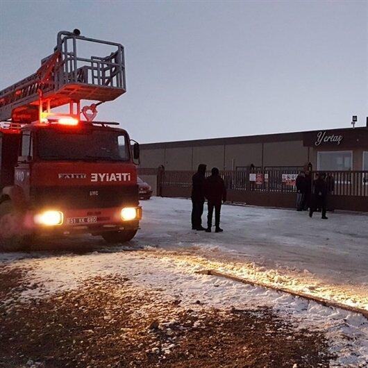Niğde'de havai fişek fabrikasındaki patlamada 2 işçi hayatını kaybetti