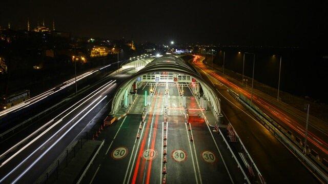 Avrasya Tüneli'nden 1.2 milyar lira katkı