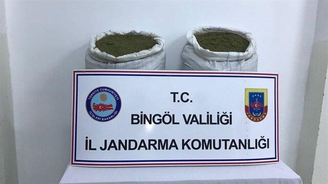 Bingöl'de uyuşturucu operasyonları gerçekleştirildi