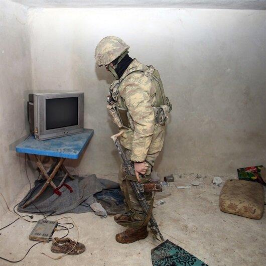 """""""وكالة الأناضول التركية"""" تصوّر أنفاق ومواقع الإرهابيين في عفرين"""