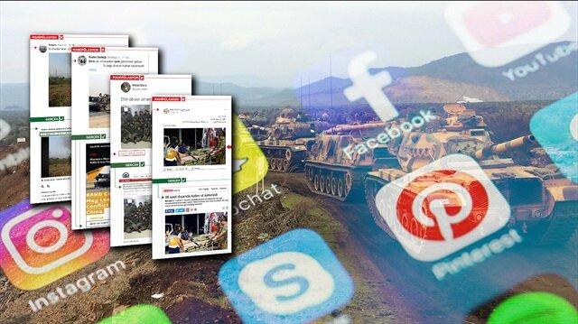 Zeytin Dalı Harekatı'nın ikinci ayağı: Sosyal Medya!