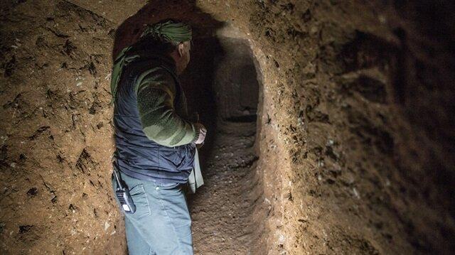 Afrin'de bir terör tüneli daha bulundu