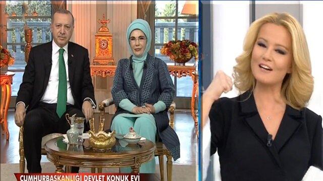 Cumhurbaşkanı Erdoğan canlı yayına bağlandı!