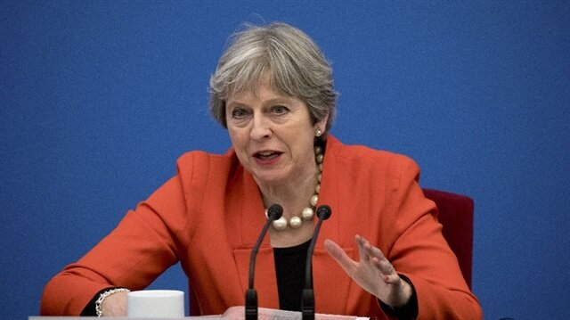 UK's May: EU nationals won't get same rights after Brexit