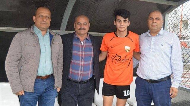 Amatör ligden Bursaspor'a transfer oldu