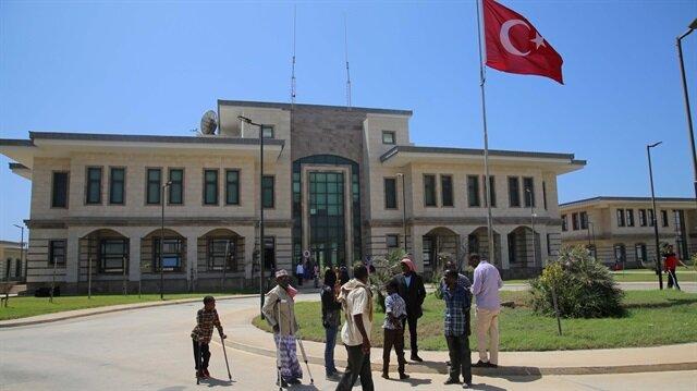 Tedavisi tamamlanan Somalililerden Türkiye'ye teşekkür