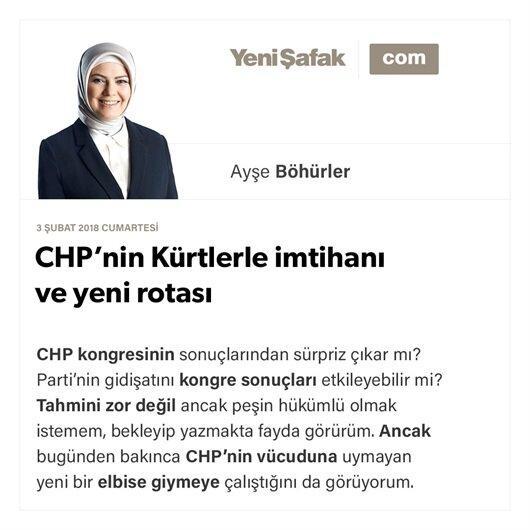 CHP'nin Kürtlerle imtihanı ve yeni rotası