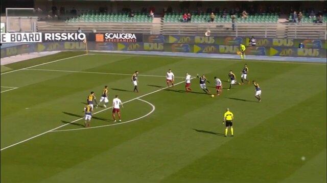 Cengiz Ünder Roma formasıyla ilk golünü böyle attı