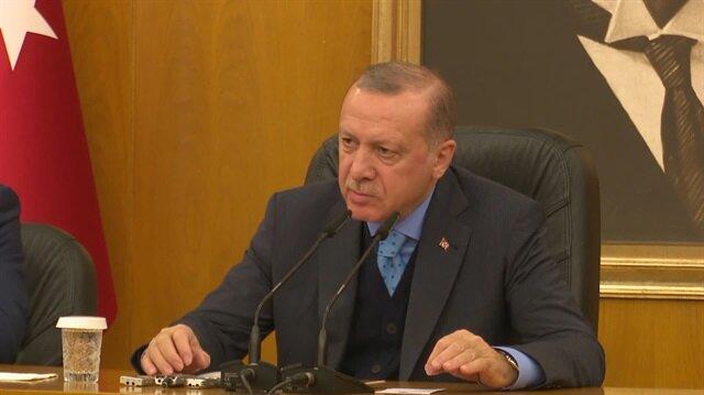 Cumhurbaşkanı Erdoğan: 935 terörist etkisiz