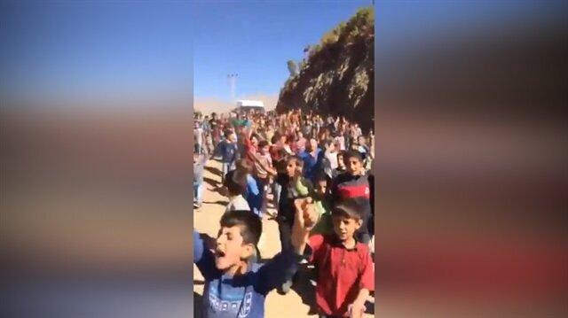 PKK'lıları çıldırtan Hakkarili çocuklar!