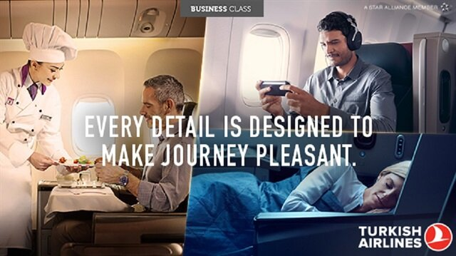 Turkish Airlines business class privileges