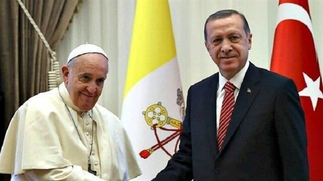 Pope and Erdogan call to protect status of Jerusalem