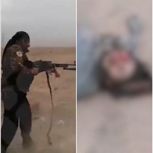 YPG'li teröristler sivili acımasızca kurşuna dizdi!