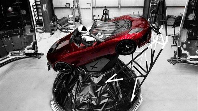 Bu araba Mars'a gidecek