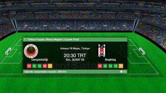 Beşiktaş Gençlerbirliği maçı canlı skor, ATV canlı yayın akışı ve maça dair tüm ayrıntılar haberimizde.