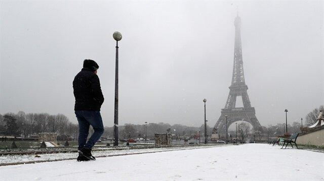 Fransa'nın 45 bölgesinde alarm verildi