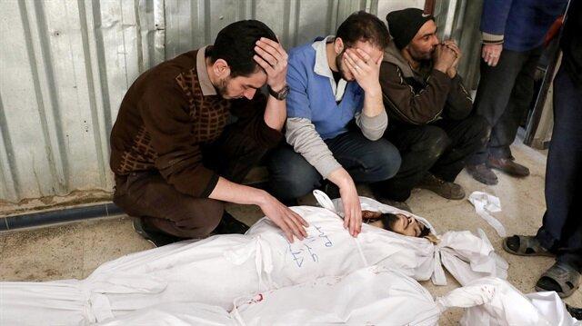 Esed Doğu Guta'yı hedef almaya devam ediyor: 74 ölü