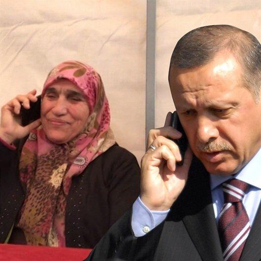 Şehit eşinden Erdoğan'a, Kanım, canım, damarım sana dua ediyor