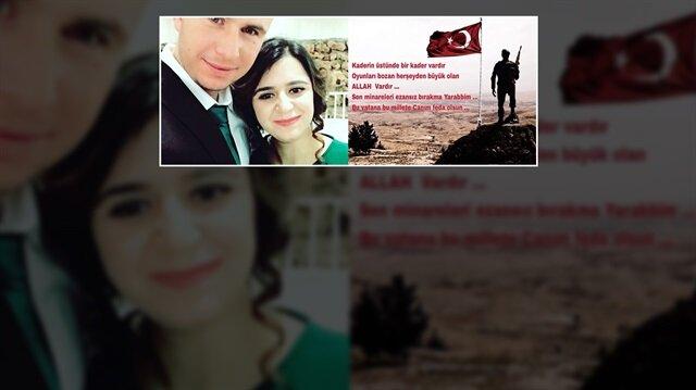 Nevşehirli Uzman Onbaşı Şahin Kaya ve eşi Rabia Kaya.