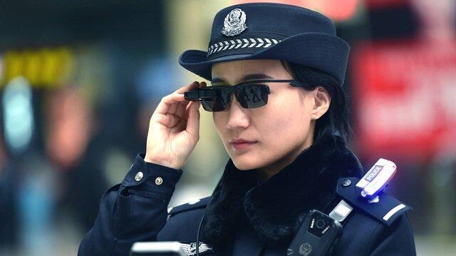 Çin'de akıllı gözlüklerle şu ana kadar 7 şüpheli yakalandı.