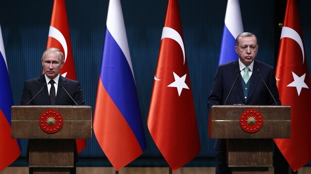 Russian President Putin meets Turkish President Erdoğan in Ankara
