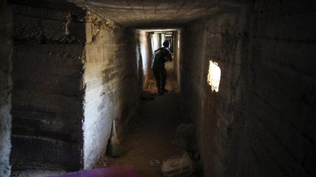Afrin'de labirent tüneller bulundu!