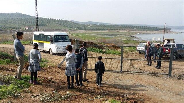 'Tapulu arazim' deyip yolu kapattı