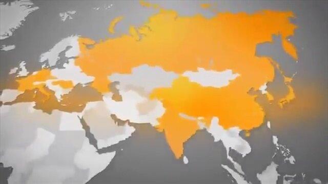 Skandal video! Türkiye'yi haritadan sildiler