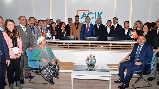 Tunceli'de 'Açık Kapı' çalışmaları kısa sürede tamamlanarak halkın hizmetine sunulacak.