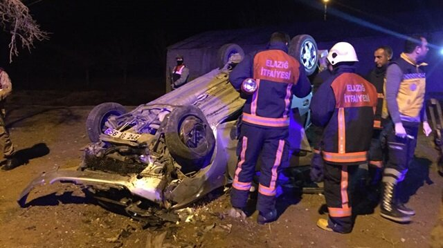 Kazada bir polis şehit oldu, bir kişi de hayatını kaybetti