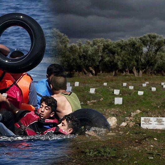 Acıların gömüldüğü yer: Midilli mülteci mezarlığı