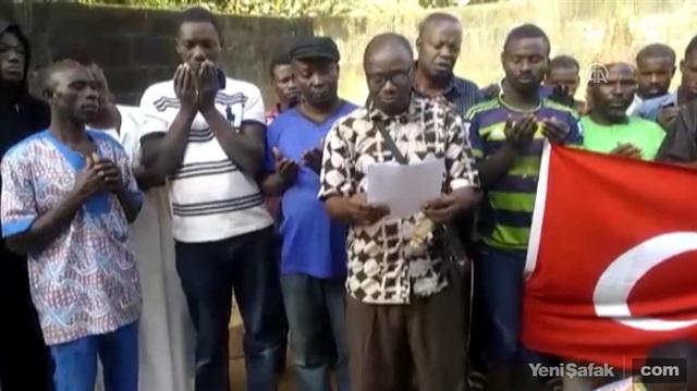 Togo'dan Zeytin Dalı Harekatı'na destek