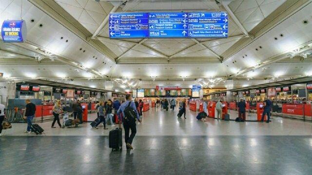 مسافرو مطار أتاتورك بإسطنبول خلال 6 سنوات يتجاوزون عدد سكان أمريكا