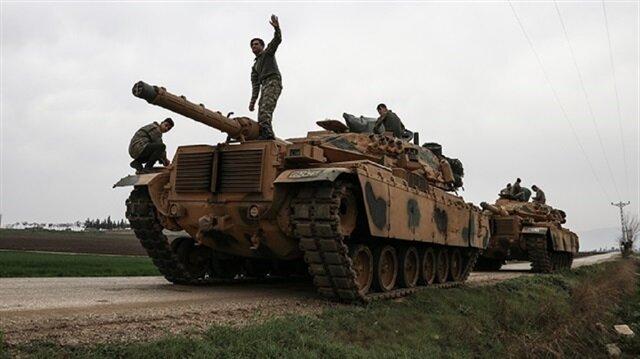 الجيش التركي والجيش السوري الحر يُطهّران قرية سرنجك شمال شرقي عفرين