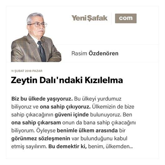 Zeytin Dalı'ndaki Kızılelma