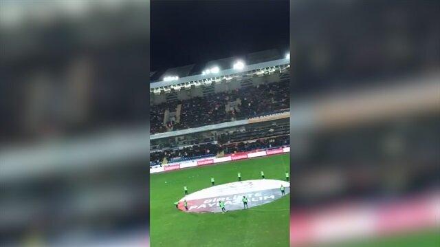 Başakşehir ve Fenerbahçeli taraftarlar söyledi: Vatan sana canım feda!