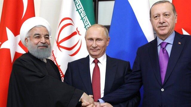 الكرملين: التعاون بين روسيا وتركيا وإيران مهم للسلام في سوريا
