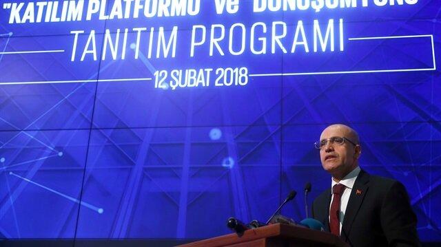 Turkey's deputy prime minister Mehmet Şimşek