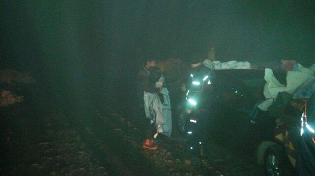 Kocaeli AFAD ekipleri 1 gecede 5 kişiyi kurtardı.