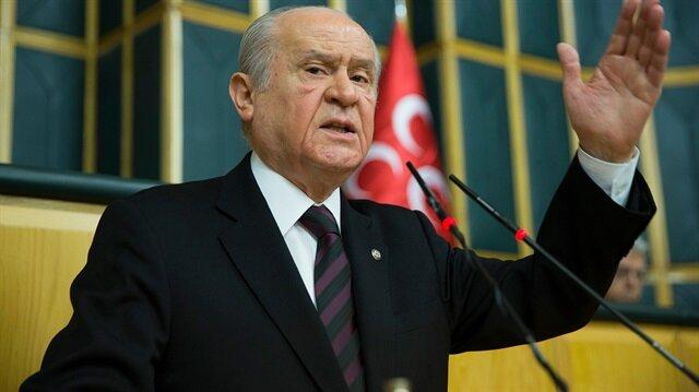 Devlet Bahçeli'den İlker Başbuğ'a Afrin tepkisi