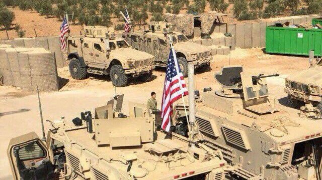 PKK işgalindeki Halep'e bağlı Münbiç ilçesine Pentagon tarafından zırhlı birlik ve asker takviyesi yapıldı