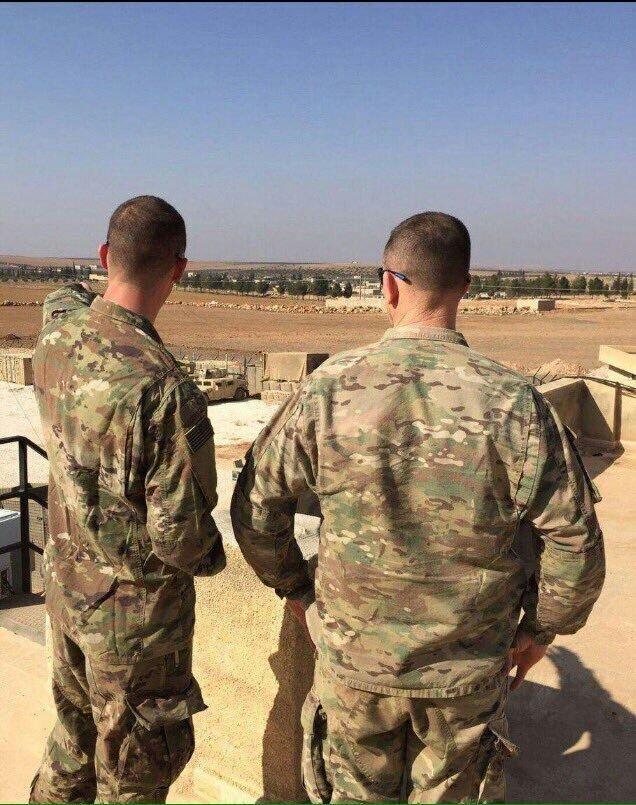 PKK işgalindeki Halep'e bağlı Munbic ilçesine Pentagon tarafından zırhlı birlik ve asker takviyesi yapıldı.