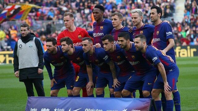 Yery Mina Barcelona'da 1 maçta 90 dakika forma şansı buldu.
