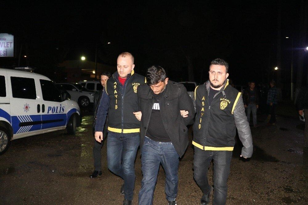 Araç şoförü, Adana Cumhuriyet Başsavcılığının talimatı ile adli işlem yapılmak üzere gözaltına alındı.