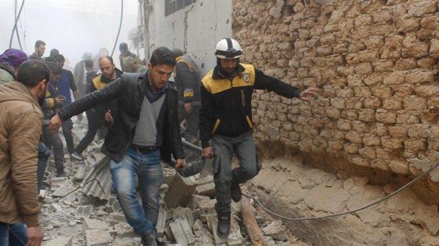 Esed rejimi, Doğu Guta'da sivilleri hedef almaya devam ediyor
