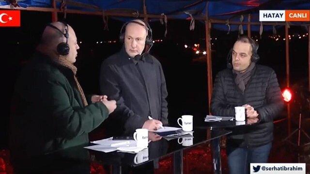 TVNET Haber Müdürü Serhat İbrahim oğlu ile Yeni Şafak yazarları Süleyman Seyfi Öğün ve Nedret Ersanel, Afrin operasyonunu yorumluyor