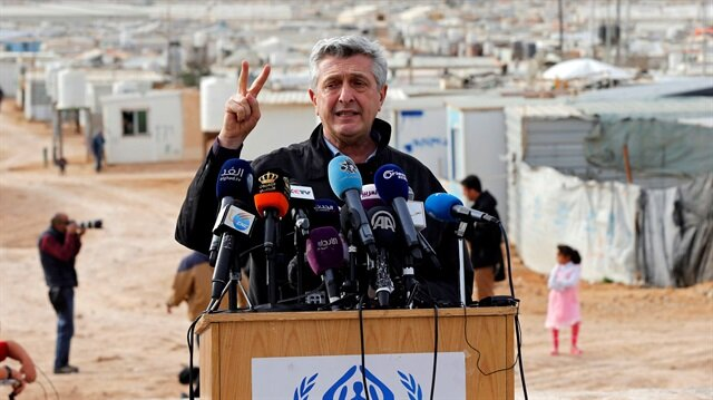 Birleşmiş Milletler Mülteciler Yüksek Komiseri Filippo Grandi