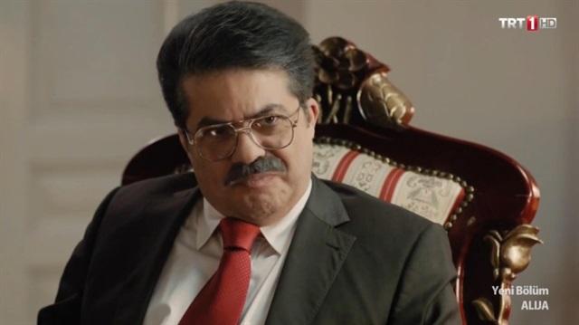 Alija dizisinde Turgut Özal sahnesi