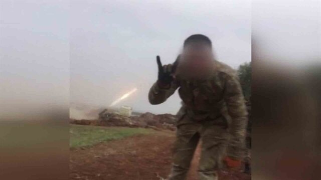 ÇNRA'ların PKK/PYD hedeflerini tam isabetle vurma anı kamerada